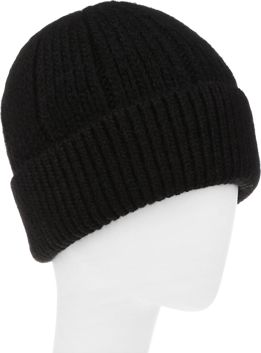 ШапкаF2251852V-18Вязаная мужская шапка Vittorio Richi выполнена из мохера с добавлением шерсти, акрила и полиэстера. Модель с отворотом оформлена вязаным узором. Внутри флисовая подкладка. Уважаемые клиенты! Размер, доступный для заказа, является обхватом головы.
