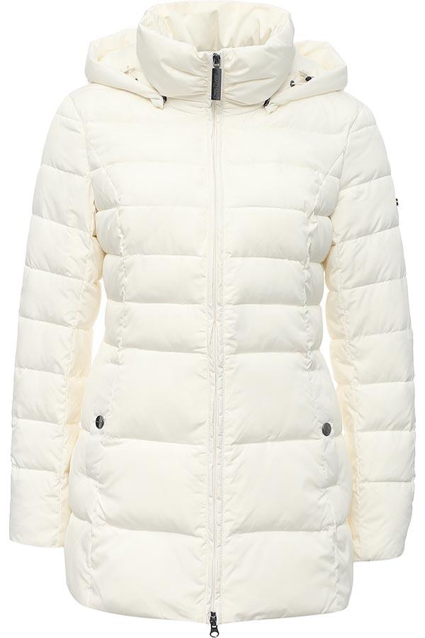 КурткаW16-11025_200Женская куртка Finn Flare выполнена из ветрозащитного и водостойкого материала с утеплителем из полиэстера. Модель с воротником-стойкой и съемным капюшоном застегивается на молнию с ветрозащитной планкой. Капюшон, дополненный по краю эластичным шнурком со стопперами, пристегивается к куртке с помощью кнопок. Спереди расположены два втачных кармана на кнопках. Изделие украшено фирменной металлической пластиной с названием бренда.