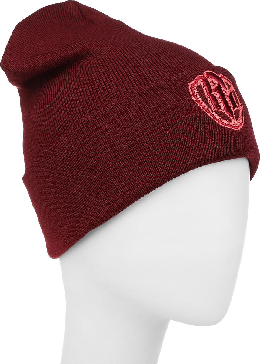 ШапкаIP170777Теплая женская шапка Vittorio Richi выполнена из шерсти и акрила. Модель с отворотом оформлена небольшой нашивкой с логотипом бренда. Уважаемые клиенты! Размер, доступный для заказа, является обхватом головы.