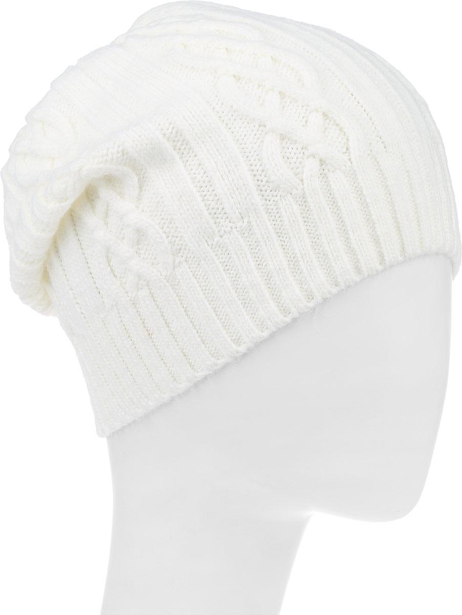 ШапкаF2241963V-11Вязаная женская шапка Vittorio Richi выполнена из мохера с добавлением акрила, шерсти и полиэстера. Модель оформлена вязаным узором. Уважаемые клиенты! Размер, доступный для заказа, является обхватом головы.