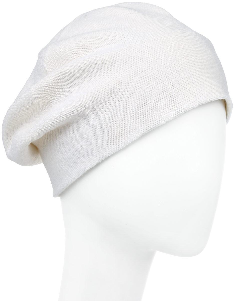 F2241643C-11Вязаная женская шапка Vittorio Richi выполнена из шерсти с добавлением акрила. Модель украшена небольшой аппликацией из стразов. Уважаемые клиенты! Размер, доступный для заказа, является обхватом головы.