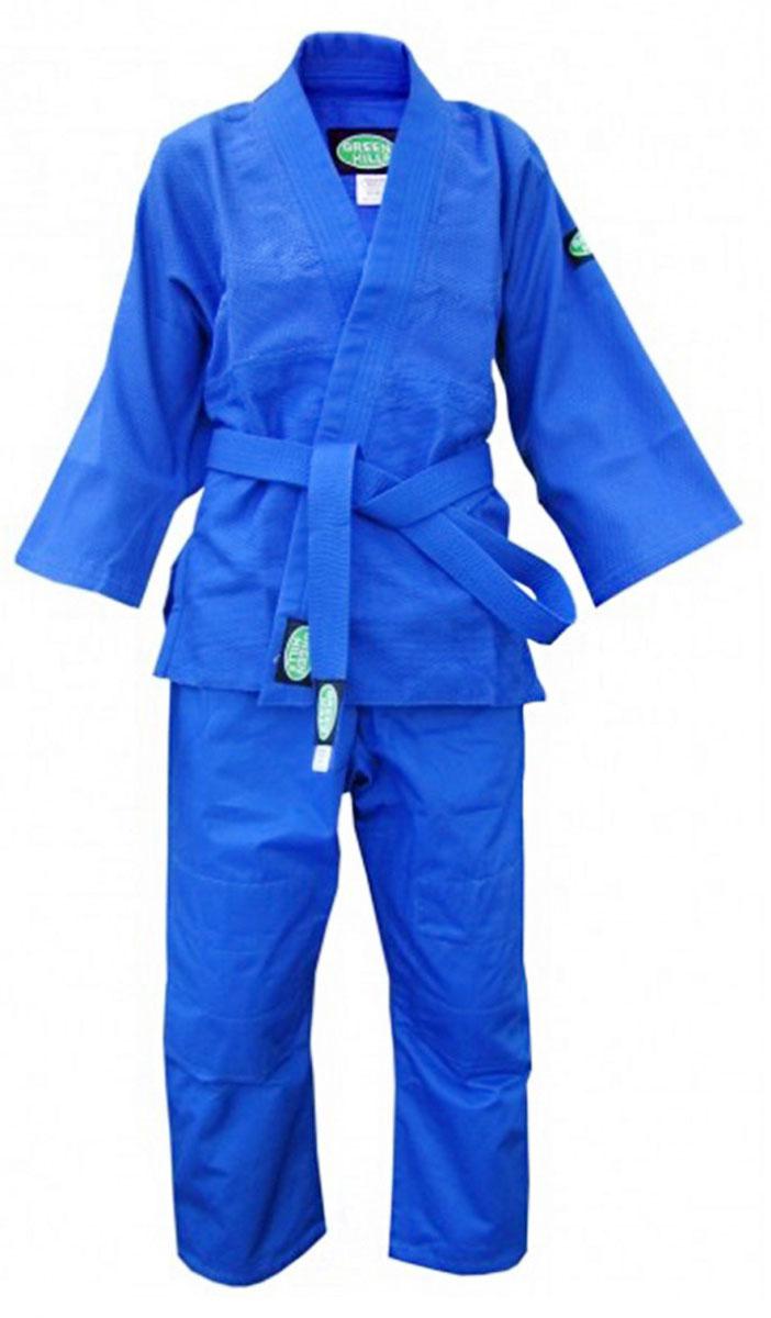 JSС-10202_детскоеДетское кимоно обеспечивает комфорт во время тренировок, благодаря своему натуральному составу из 100% хлопка. Плотность ткани 450 г/м2 - оптимальное соотношение износостойкости и легкости. Двойные швы на плечах, груди, рукавах – обеспечивают дополнительную прочность куртки. Вставки в пройме, в районе колен брюк обеспечивают их дополнительную прочность. Возможная усадка после стирки - 5%.