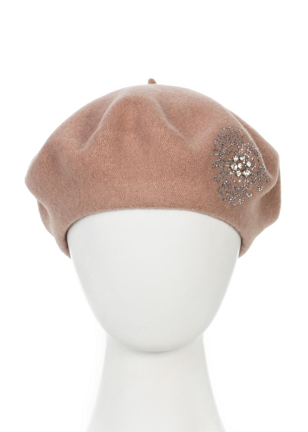 Берет998465Теплый берет Avanta Nea, выполненный из натуральной шерсти, отлично дополнит ваш образ в холодную погоду. Модель оформлена оригинальным узором выложенным из страз. Такой берет, составит идеальный комплект с модной верхней одеждой, в нем вам будет уютно и тепло! Уважаемые клиенты! Размер, доступный для заказа, является обхватом головы.