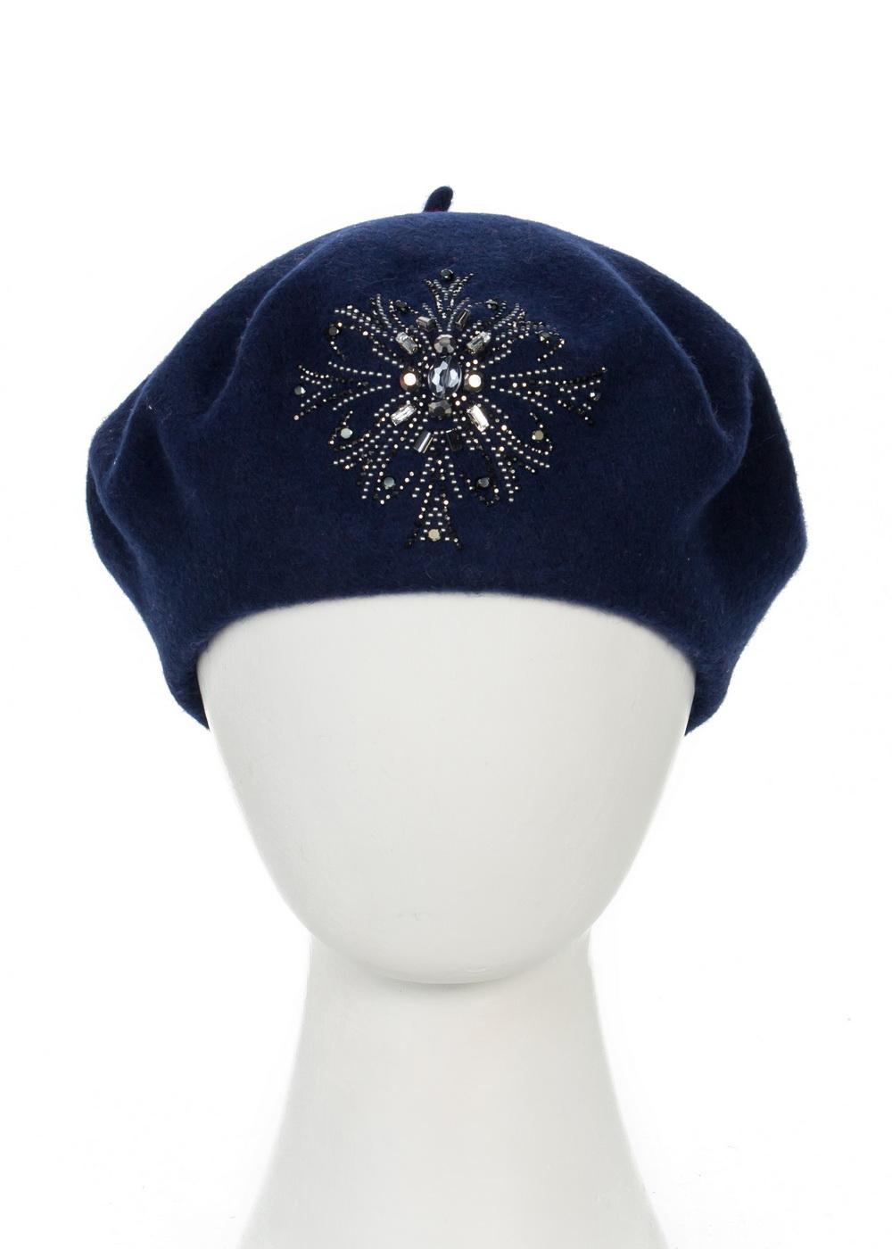 998825Теплая женская шапка, детали и оттенок изделия могут отличаться от представленных на фото