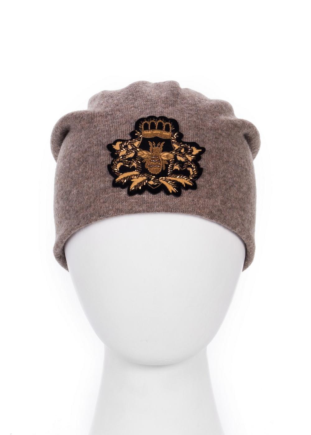 Шапка998906Женская шапка Level Pro изготовлена из комбинации вискозы, акрилика, шерсти, эластана и кашемира, подкладка - из флиса. Уважаемые клиенты! Размер, доступный для заказа, является обхватом головы.