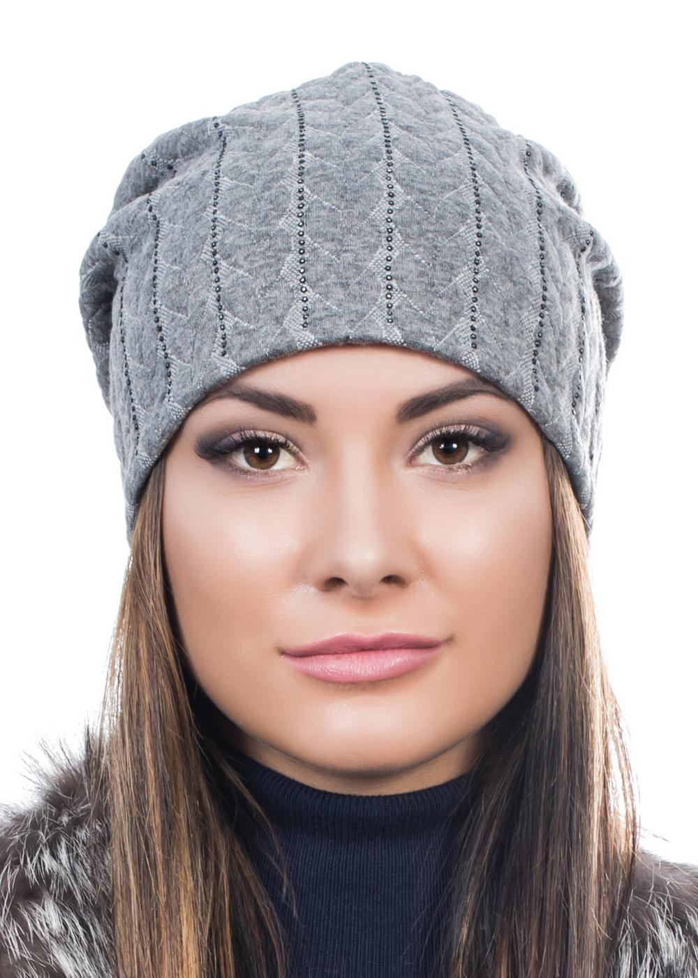 Шапка999218Женская шапка Level Pro изготовлена из комбинации вискозы, полиэстера и эластана, подкладка - из флиса. Уважаемые клиенты! Размер, доступный для заказа, является обхватом головы.