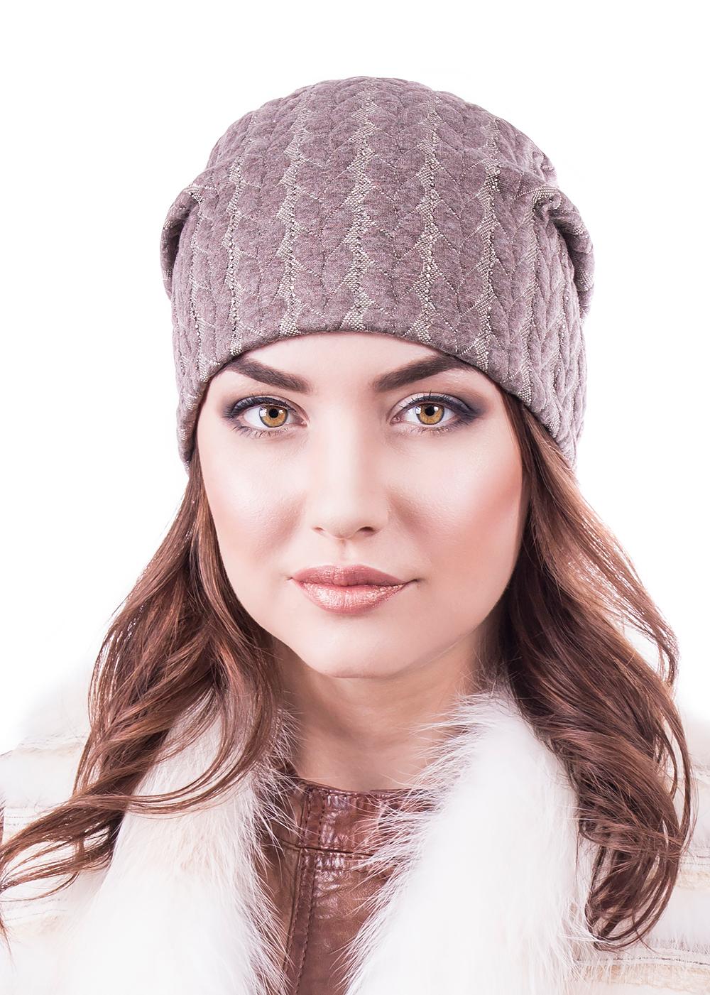 999218Женская шапка Level Pro изготовлена из комбинации вискозы, полиэстера и эластана, подкладка - из флиса. Уважаемые клиенты! Размер, доступный для заказа, является обхватом головы.