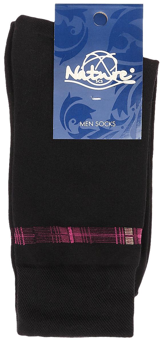210Мужские носки Nature изготовлены из высококачественного эластичного хлопка с добавлением полиамида и эластана. Носки с классическим паголенком дополнены эластичной резинкой, которая надежно фиксирует носки на ноге.