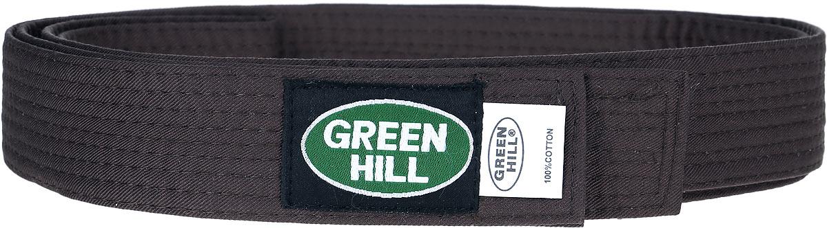 KBB-1015Пояс для кикбоксинга Green Hill 7-Contact выполнен из плотного хлопкового материала с многорядной прострочкой. Модель дополнена текстильной нашивкой с названием бренда.