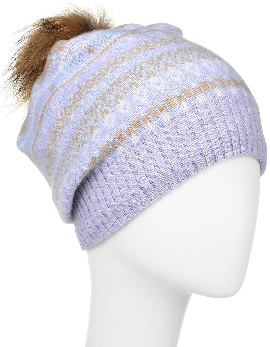 W16-32124_205Женская шапка Finn Flare выполнена из шерсти с добавлением нейлона. Модель украшена небольшой металлической пластиной с названием бренда и помпоном на макушке. Уважаемые клиенты! Размер, доступный для заказа, является обхватом головы.