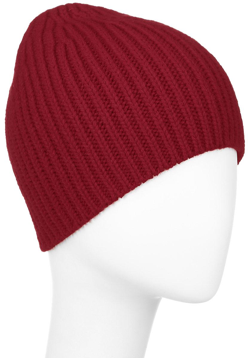 ШапкаF2251874A-18Теплая шапка Vittorio Richi выполнена из шерсти и акрила. Шапка без подкладки оформлена мелкой вертикальной вязкой. Уважаемые клиенты! Размер, доступный для заказа, является обхватом головы.