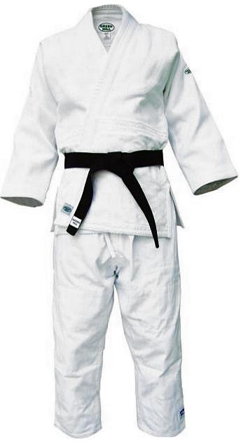Кимоно для дзюдоJSM-10223Профессиональный тренировочный дзюдоги или, как его еще называют, кимоно для дзюдо от фирмы Green Hill изготовлено из 100% хлопка. Ткань особого переплетения имеет плотность 750 г/м2. На куртке усилены плечевые швы. Брюки упрочнены двойной стежкой. Дзюдоги отлично подойдет для тренировок и соревнований. Пояс приобретается отдельно. Возможная усадка после стирки-2%
