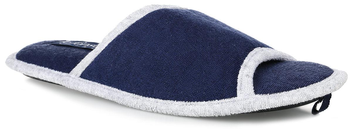 ULISSE 2Мужские ароматизированные тапки от De Fonseca с открытым мыском выполнены из мягкого текстиля. Подкладка и стелька также выполненные из мягкого текстиля обеспечат уют и тепло. Резиновая подошва оснащена рифлением.