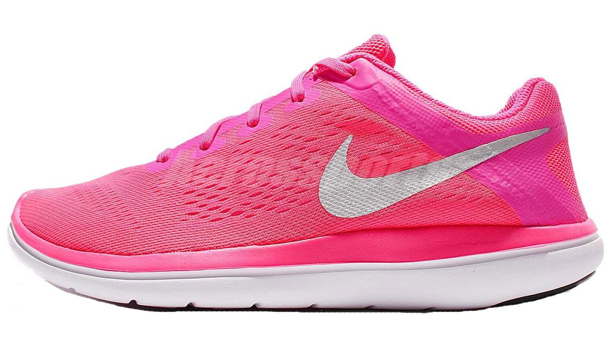 834281-600Кроссовки Nike Flex 2016 RN из сетчатого текстиля с полимерными вставками. Текстильная внутренняя отделка, технология Flex гарантирует оптимальную амортизацию. Съемная стелька, светоотражающий логотип.