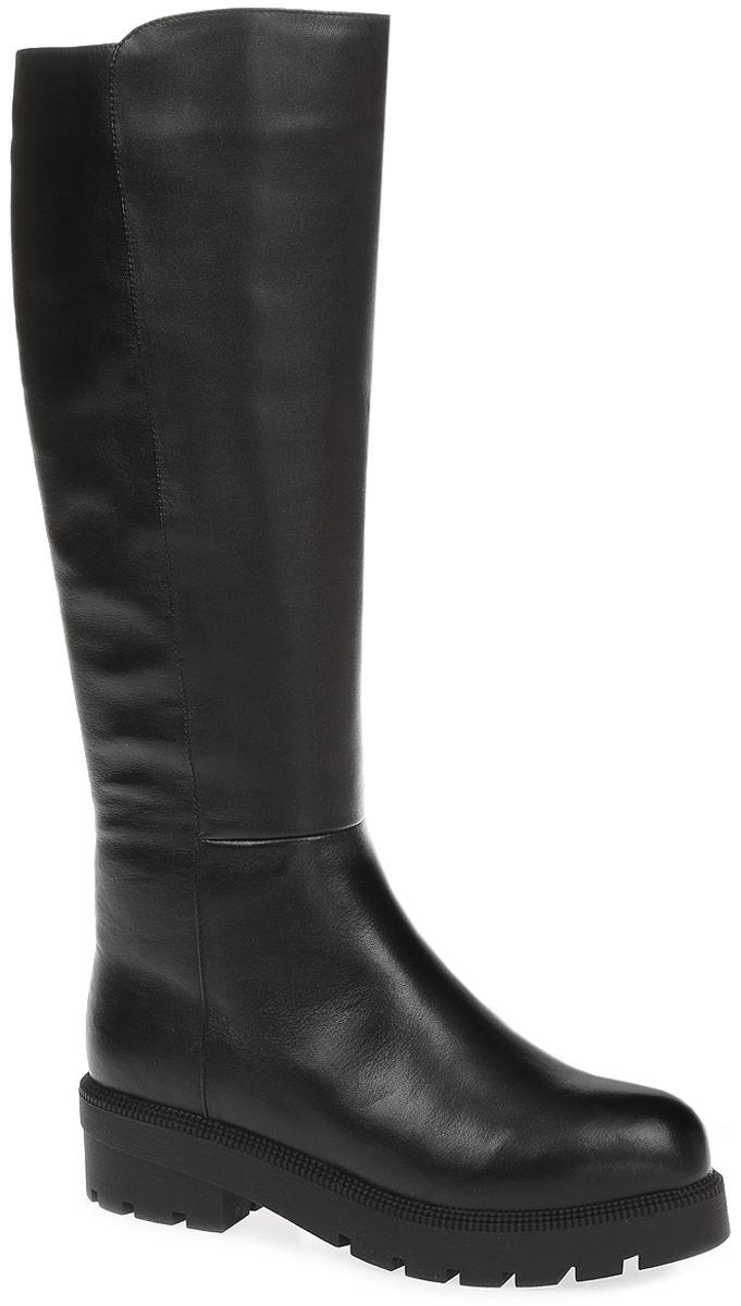 REN7-17BBS-2/1Элегантные сапоги от Westfalika займут достойное место в вашем гардеробе. Модель выполнена из натуральной кожи. Внутренний материал верха - ворсин, низ и стелька из натурального меха защитят ноги от холода и обеспечат комфорт. Сапоги застегивается на застежку-молнию, расположенную сбоку. Подошва и устойчивый каблук из термопластичной резины с рельефным протектором обеспечивает отличное сцепление на любой поверхности.