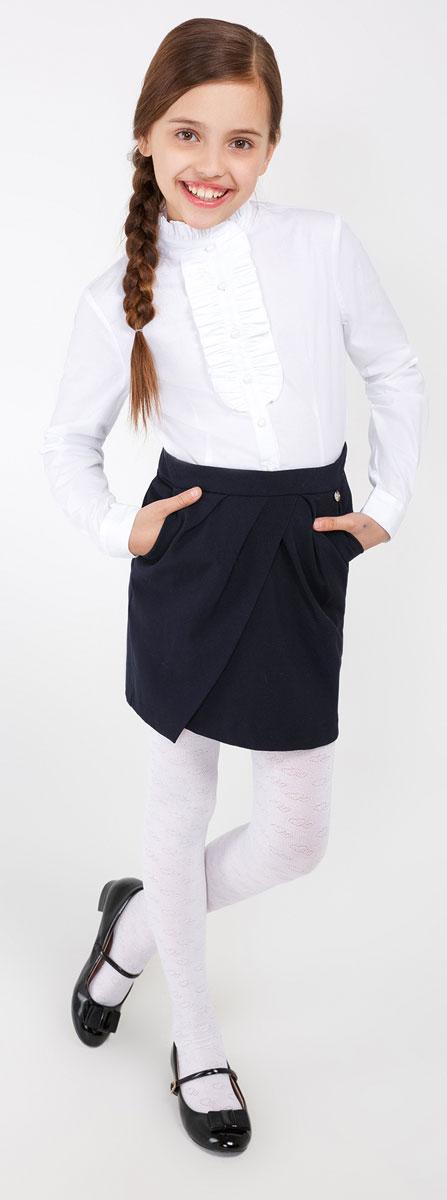 Юбка20210180022_600Стильная юбка для девочки Acoola Faradey идеально подойдет для школы и повседневной носки. Изготовленная из высококачественного материала. Юбка сзади застегивается на пуговицу и потайную застежку-молнию. Крупные складки спереди обеспечивают комфортный свободный силуэт. Модель дополнена двумя боковыми карманами.