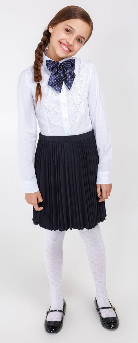 20210260011_200Стильная блузка для девочки Acoola Tesla выполнена из высококачественного материала. Модель приталенного кроя с длинными рукавами и отложным воротником застегивается на пуговицы. Манжеты также застегиваются на пуговицы.