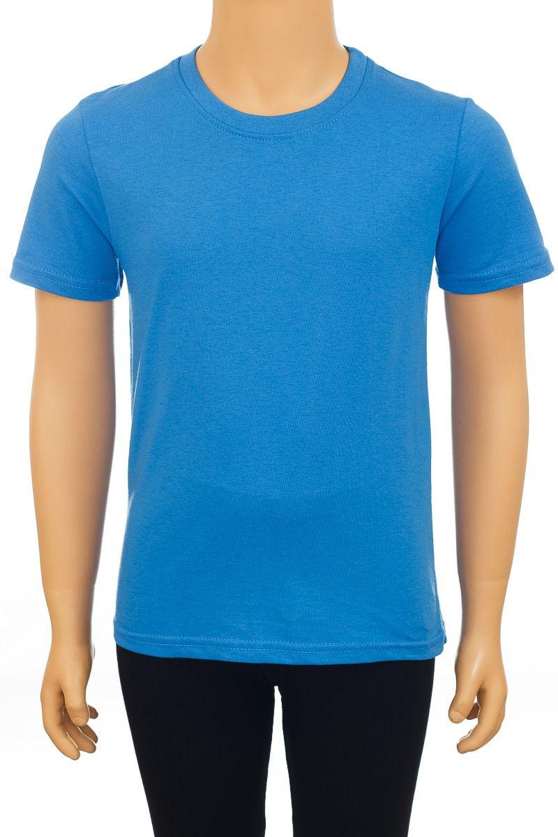 Ф1618-7Детская футболка M&D, выполненная из натурального хлопка, идеально дополнит образ вашего малыша.Модель с круглым вырезом горловины и короткими рукавами оформлена в лаконичном дизайне.
