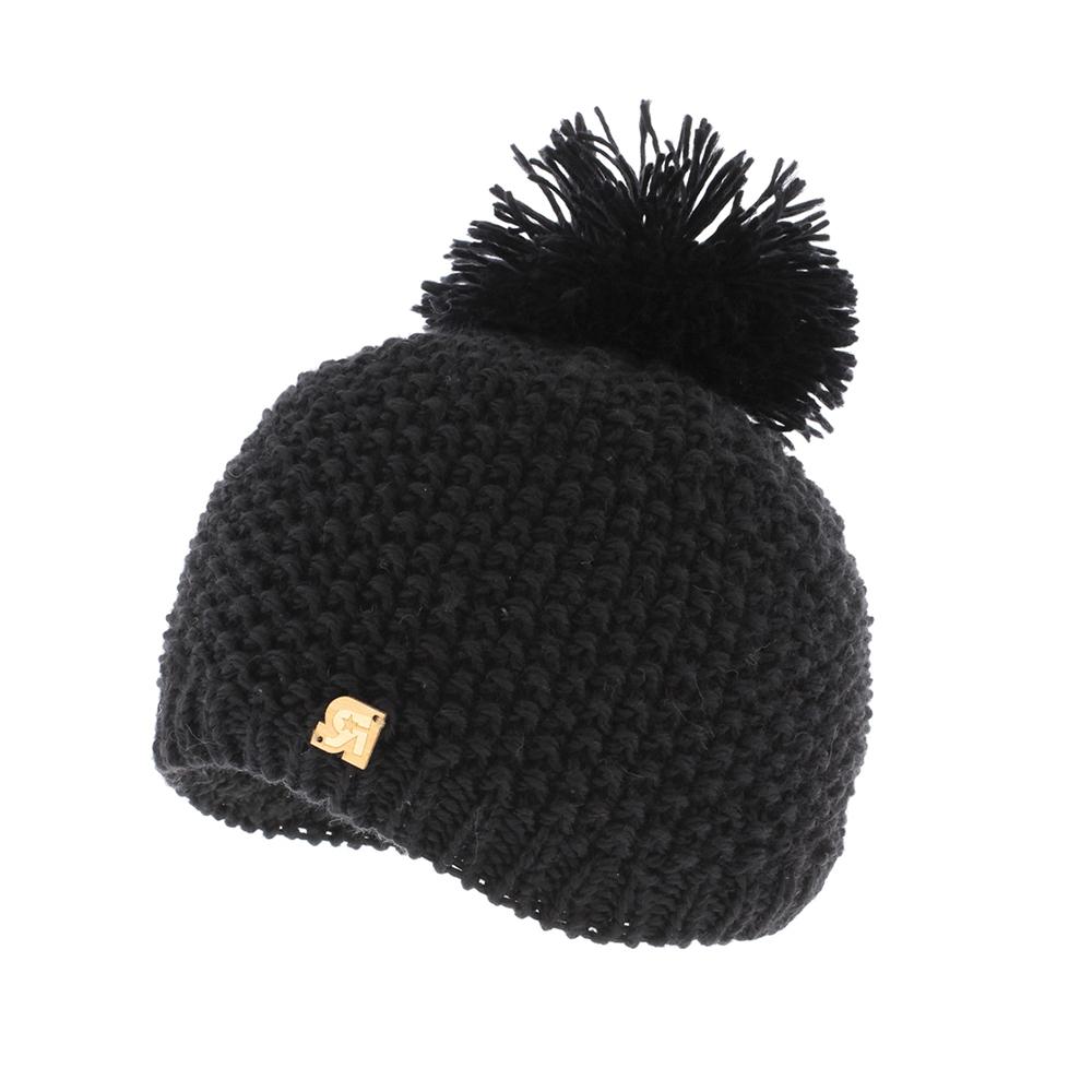 ШапкаICE 8505Теплая вязаная шапка R.Mountain выполнена из акрила и шерсти, приятных на ощупь. Модель оформлена вязаным узором и нашивкой в виде логотипа бренда. Шапка дополнена крупным помпоном на макушке. Подкладка полностью выполнена из ворсистого плюша, который обеспечит тепло и комфорт.