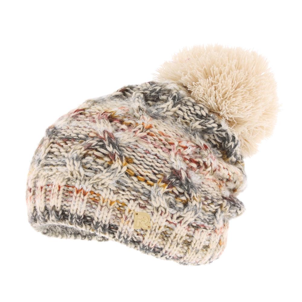 ICE 8516Теплая вязаная шапка R.Mountain полностью выполнена из акрила, приятного на ощупь. Модель оформлена нашивкой в виде логотипа бренда и дополнена пушистым помпоном на макушке. Подкладка полностью выполнена из ворсистого плюша, который обеспечит тепло и комфорт.