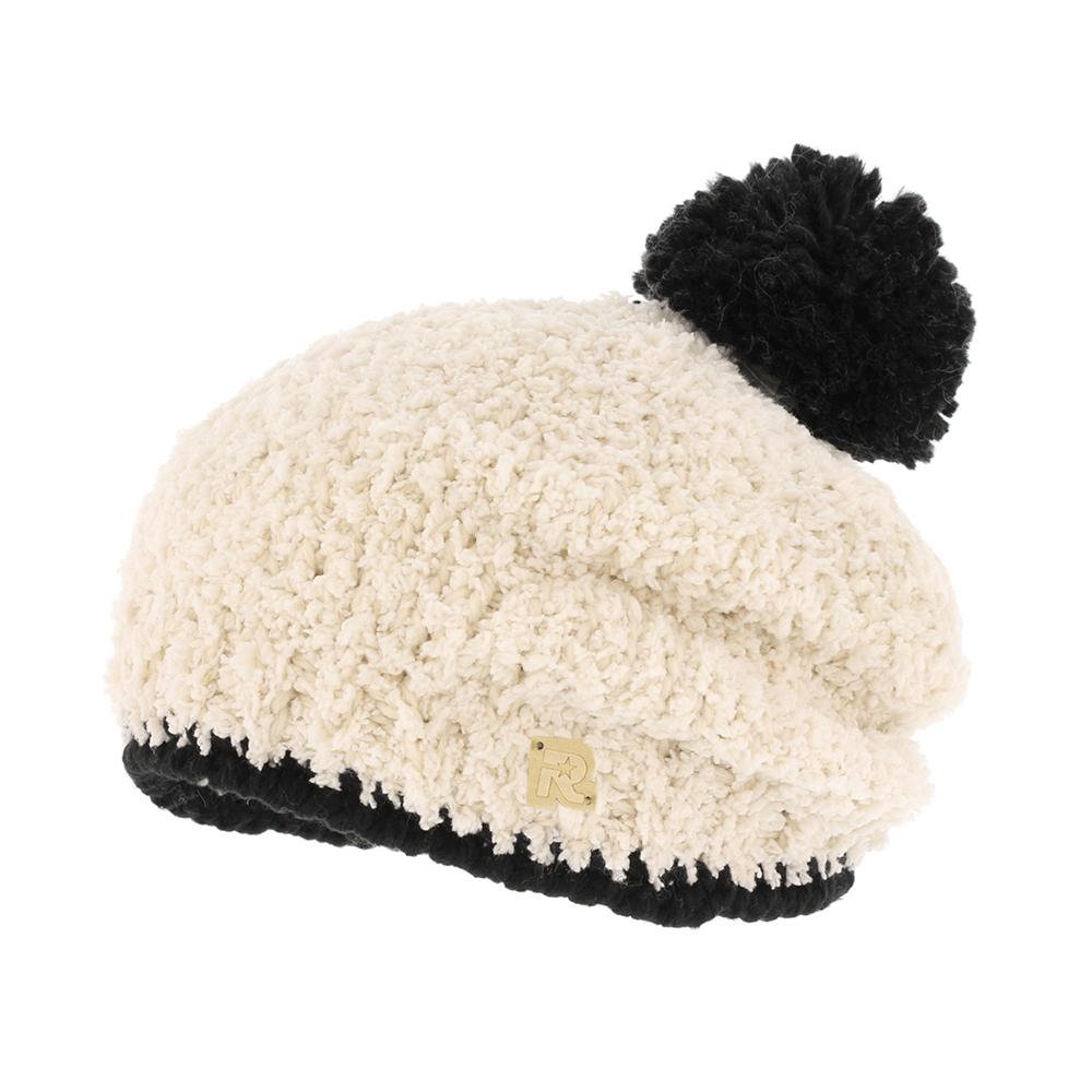 ШапкаICE 8521Теплая шапка R.Mountain полностью выполнена из высококачественного полиэстера. Модель с ворсистой поверхностью оформлена нашивкой в виде логотипа бренда. Шапка дополнена крупным помпоном. Вязаный низ изделия надежно зафиксирует изделие на голове.
