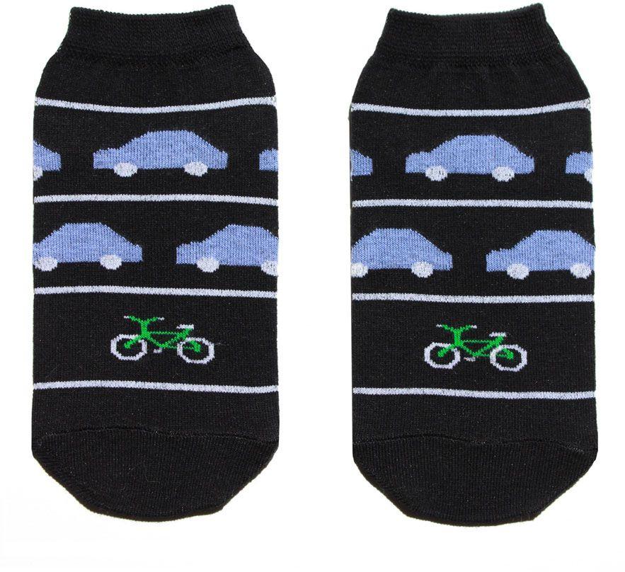 Носкиp4132Мужские носки Big Bang Socks изготовлены из высококачественного хлопка с добавлением полиамидных и эластановых волокон, которые обеспечивают великолепную посадку. Удобная резинка идеально облегает ногу и не пережимает сосуды, а укороченный паголенок придает более эстетичный вид. Модель оформлена оригинальным принтом.