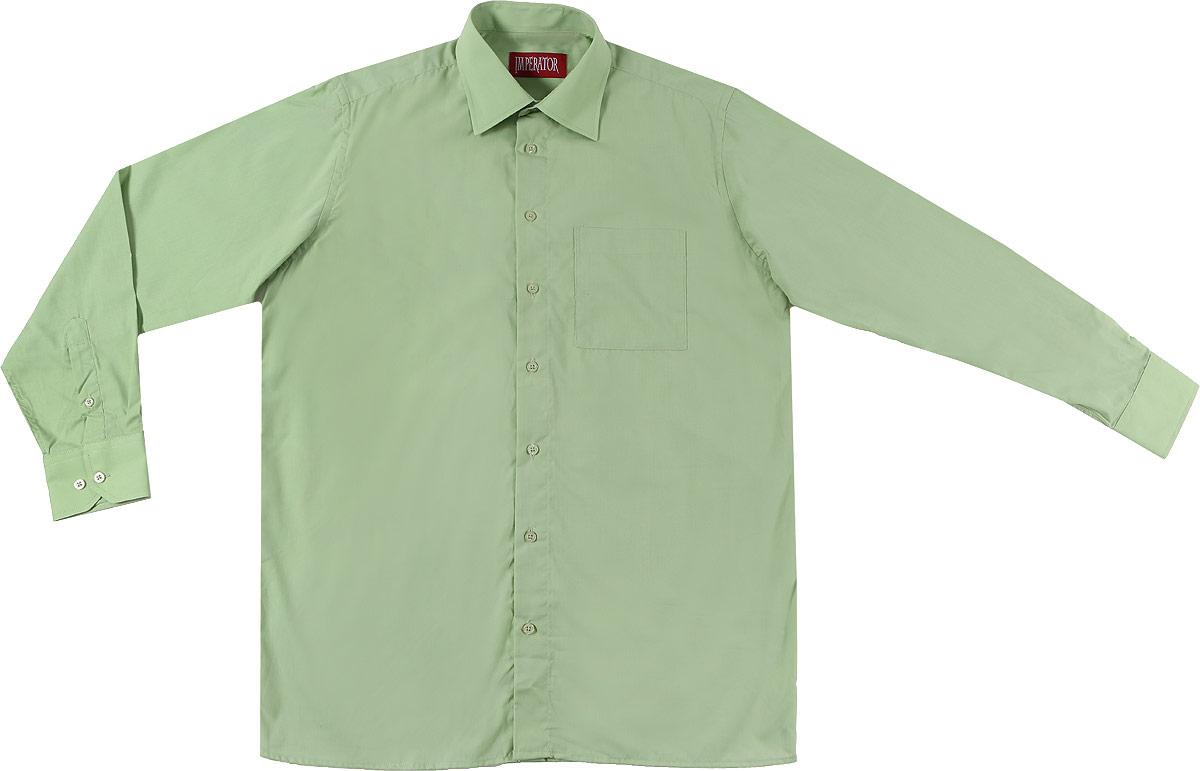 Mineral GreenОтличная мужская рубашка, выполненная из хлопка с добавлением полиэстера. Рубашка прямого кроя с длинными рукавами и отложным воротником застегивается на пуговицы. Модель дополнена одним нагрудным карманом.