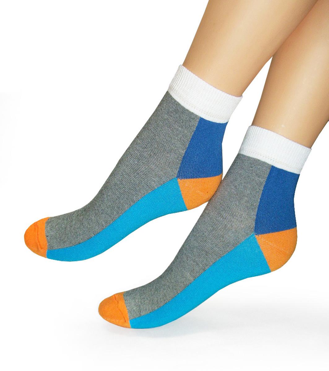 Носки251Удобные женские носочки Touch Gold для занятий спортом. Модель, закрывающая щиколотку. Носочки с ярким геометрическим рисунком изготовлены из лучших сортов хлопка с добавлением эластановых волокон, которые обеспечивают повышенную износостойкость, превосходную посадку и позволяют вашим ножкам дышать.