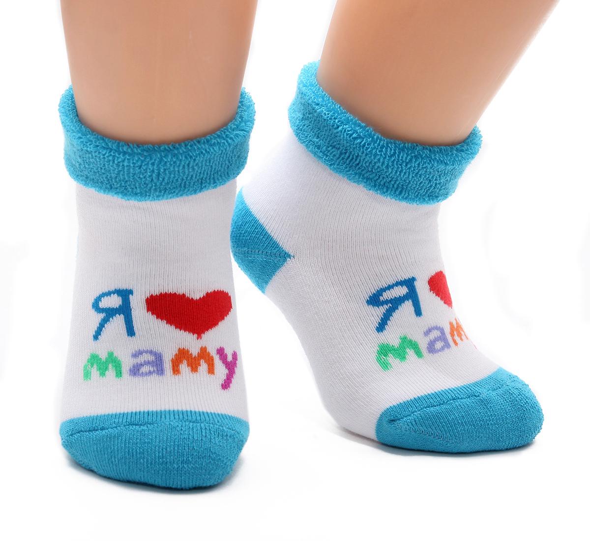126Махровые детские носочки изготовлены из высококачественного хлопка. Мягкая широкая резинка, не перетягивает ножку.