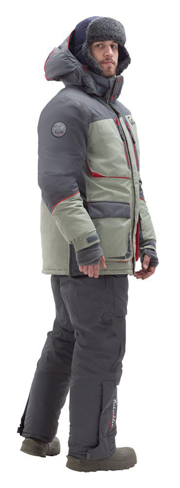 95848-560Классический костюм для зимней рыбалки! Идеально подойдет для любого типа рыбалки, будь то мормышка, жерлицы или блесна! Продуманные карманы разместят все необходимое, а также оставят ваши руки в тепле. Высокий воротник и объемный капюшон будут актуальный в сильный ветер, яркие элементы на костюме будут заметны в любую метель! Новый дизайн выгодно выделяет этот костюм, время, когда на рыбалку носили что не жалко уже прошло! Не забывайте потдевать флисовый комплект и термобелье, тогда любые морозы нипочем! Влагостойкость: 3000 мм.Влагостойкость, мм. Паропроницаемость: 3000 мл./м.кв./24часа.