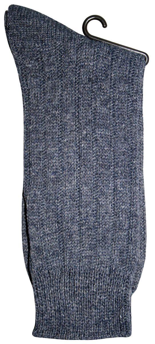 Носки88514Вязаные носки Master Socks Active Lifestyle изготовлены из натуральной шерсти, акрила и полиэстера с добавлением эластана. Модель с удлиненным паголенком оснащена эластичной резинкой, которая плотно облегает ногу, не сдавливая ее, обеспечивает удобство.