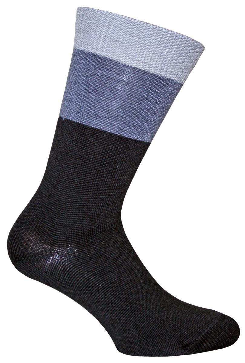 Носки58506Носки Master Socks изготовлены из полушерсти, полиамида и эластана, который обеспечивает отличную посадку. Модель с удлиненным паголенком оснащена эластичной резинкой, которая плотно облегает ногу, не сдавливая ее, обеспечивает удобство.