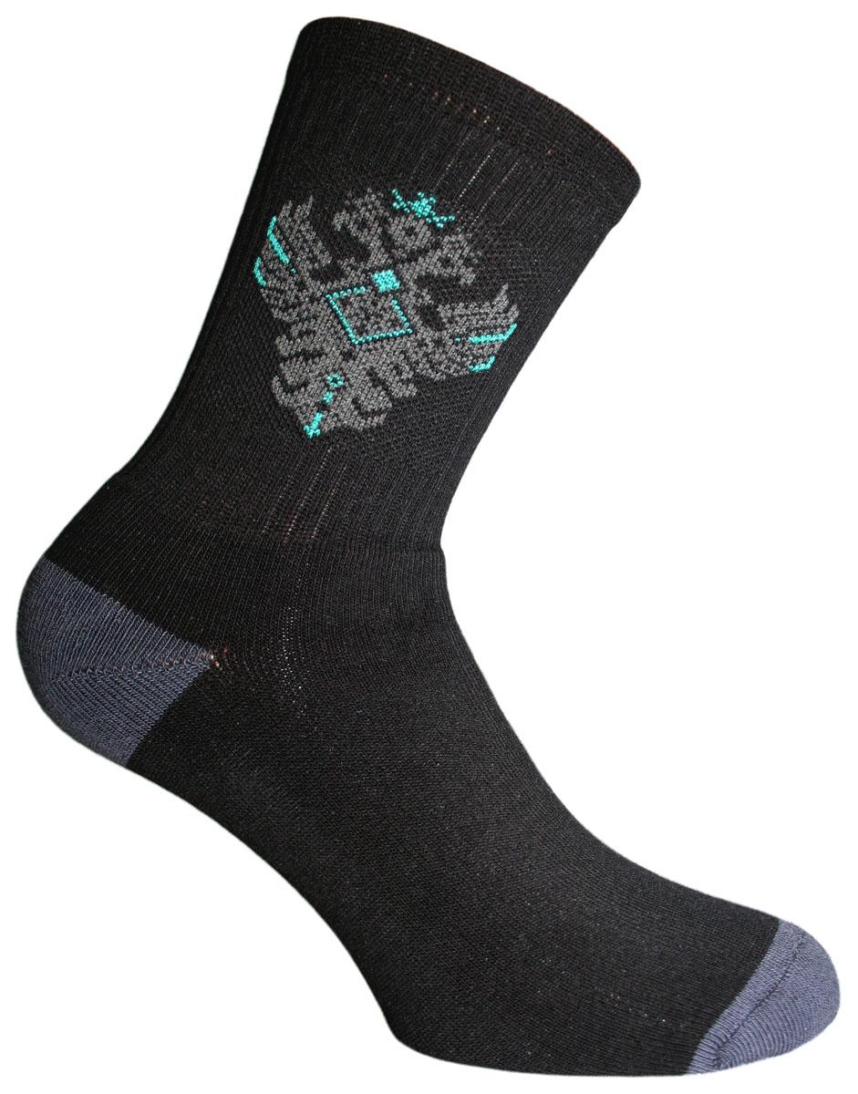 Носки58204Носки Master Socks изготовлены из натурального хлопка, полиамида и эластана, которые обеспечивают отличную посадку. Модель с удлиненным паголенком оформлена оригинальным принтом. Эластичная резинка плотно облегает ногу, не сдавливая ее, обеспечивает удобство.