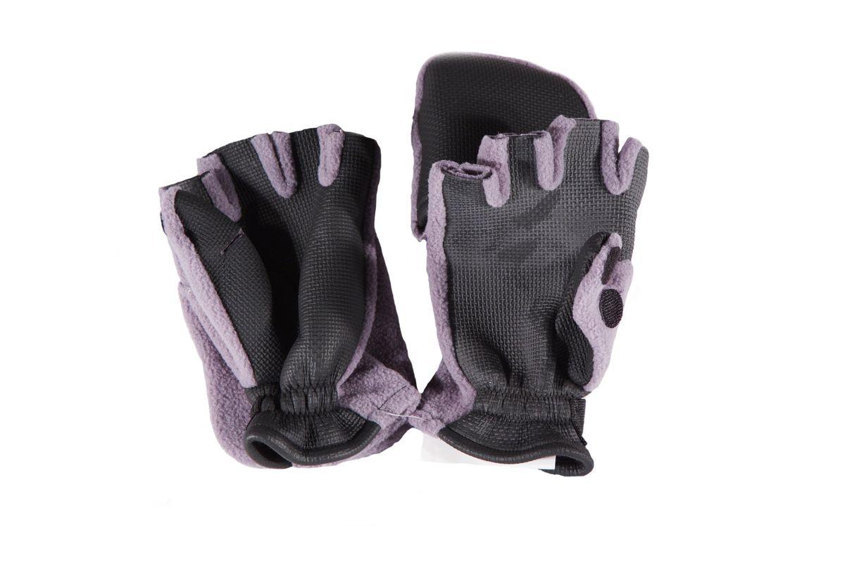 3040Перчатки с откидным верхом. Позволяют рыболову оставить открытыми лишь верхние фаланги пальцев, что позволяет удобно держать удочку, насаживать наживку или снимать с крючка рыбу. При необходимости фаланги пальцев можно закрыть. Широкая застежка велкро на запястье. Такие перчатки предоставляют максимально возможный комфорт при открытых рабочих пальцах и хорошую защиту от холода и ветра.