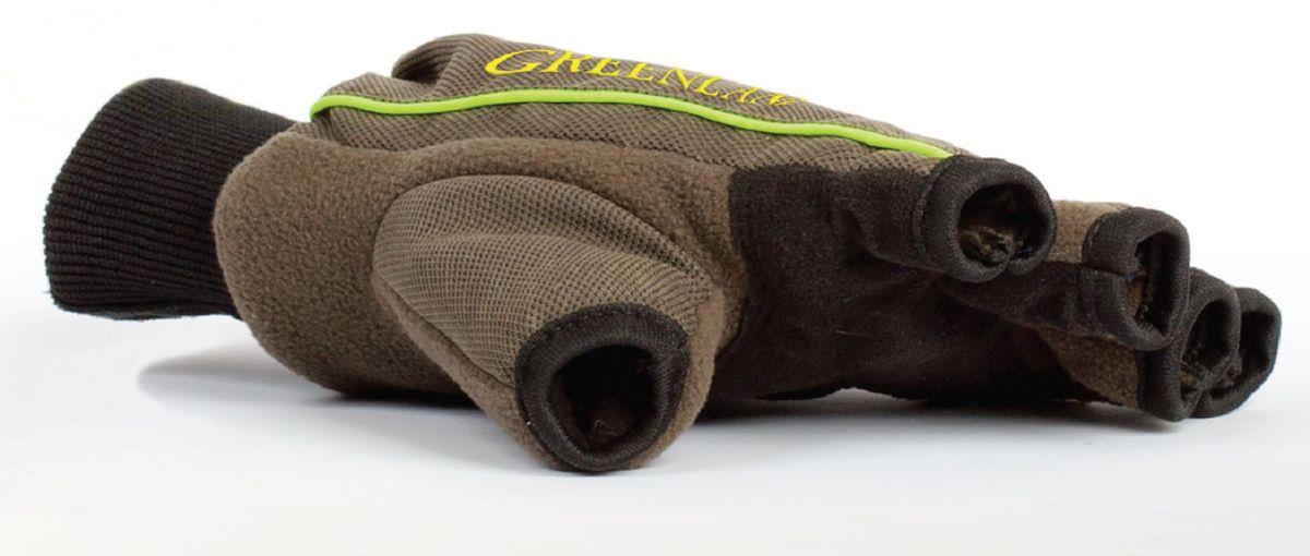 Перчатки для рыбалки810Перчатки без пальцев Arctix Greenland – чрезвычайное удобство. Перчатки без пальцев отлично подойдут мужчинам, ведущим активный образ жизни в холодное время года. Модель предназначена для использования на охоте, рыбалке, при зимних видах спорта и отдыха. Предусмотрена флисовая внутренняя сторона.