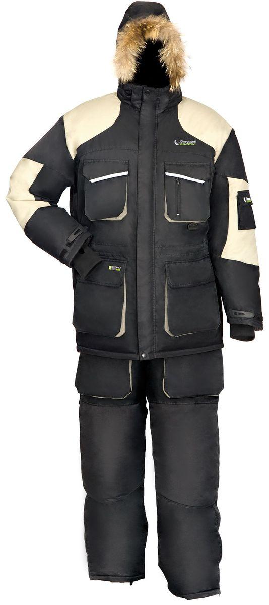 Костюм рыболовный810Костюм зимний, пуховой, Arctix Down Suit предназначен для эксплуатации при температуре до -40°С. Костюм разработан для зимней рыбалки с полной адаптацией для езды на снегоходе. Куртка имеет теплый карман для мобильного телефона. Оснащена двухзамковой застежкой-молнией YKK с клапаном на кнопках. Фиксатор, стягивающий капюшон. Крепление капюшона к куртке замком-молнией. Фиксатор, стягивающий низ куртки. Эластичные, удлиненные и утепленные манжеты с прорезью под большой палец. Снегозащитная юбка. Светоотражающие нашивки безопасности. Усиление материала на плечах. Специальная конструкция подкладки с зонами, улучшающими отвод влаги. Полукомбинезон имеет удобные, регулируемые лямки на замке. Шлевки под ремень. Фиксатор, регулирующий талию. Двухзамковая застежка-молния YKK с клапаном на липучке. Накладные карманы с клапаном. Материал повышенной прочности в области седалища и колен. Боковые молнии снизу позволяют быстро надеть полукомбинезон, не снимая обуви. Внутренние...