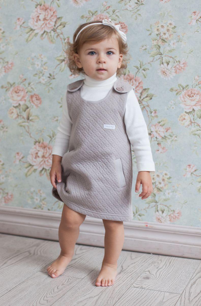 33-66Ультрасовременное платье без рукавов must have этого сезона. Оно органично смотрится на любом мероприятии и очень понравится вашей девочке. Добавьте в комплект белую водолазку и выходной наряд готов.