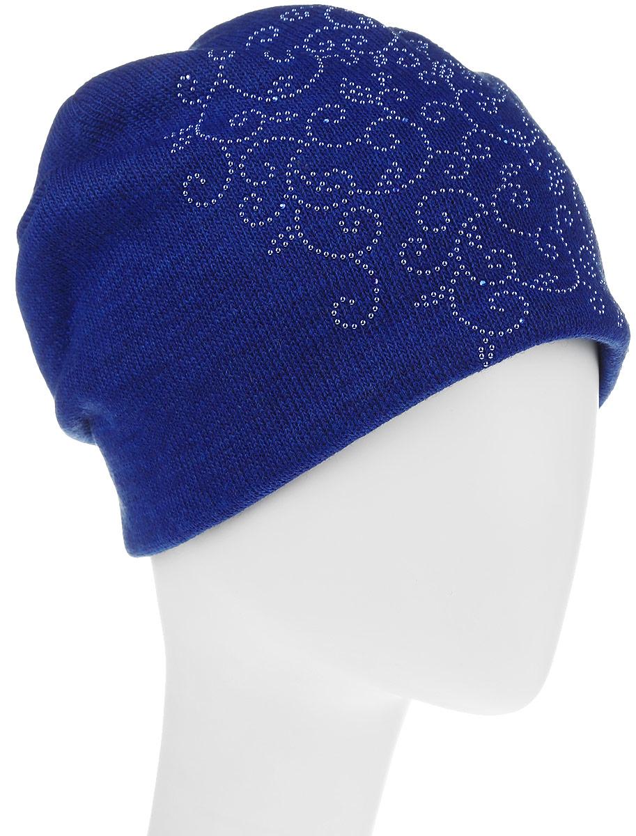 Шапка996537Женская шапка Avanta изготовлена из шерсти и акрилика. Уважаемые клиенты! Размер, доступный для заказа, является обхватом головы.