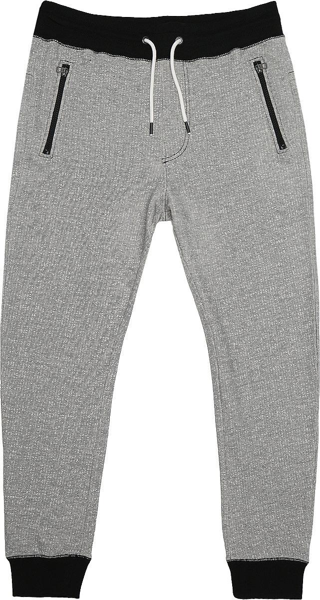 6829100.02.12_2999Стильные мужские брюки Tom Tailor Denim выполнены из натурального хлопка. Модель на талии имеет широкий эластичный пояс, дополненный утягивающим шнурком. Спереди брюки оформлены имитацией ширинки. Низ брючин дополнен широкими трикотажными манжетами. Спереди брюки оснащены двумя врезными карманами на застежках-молниях.