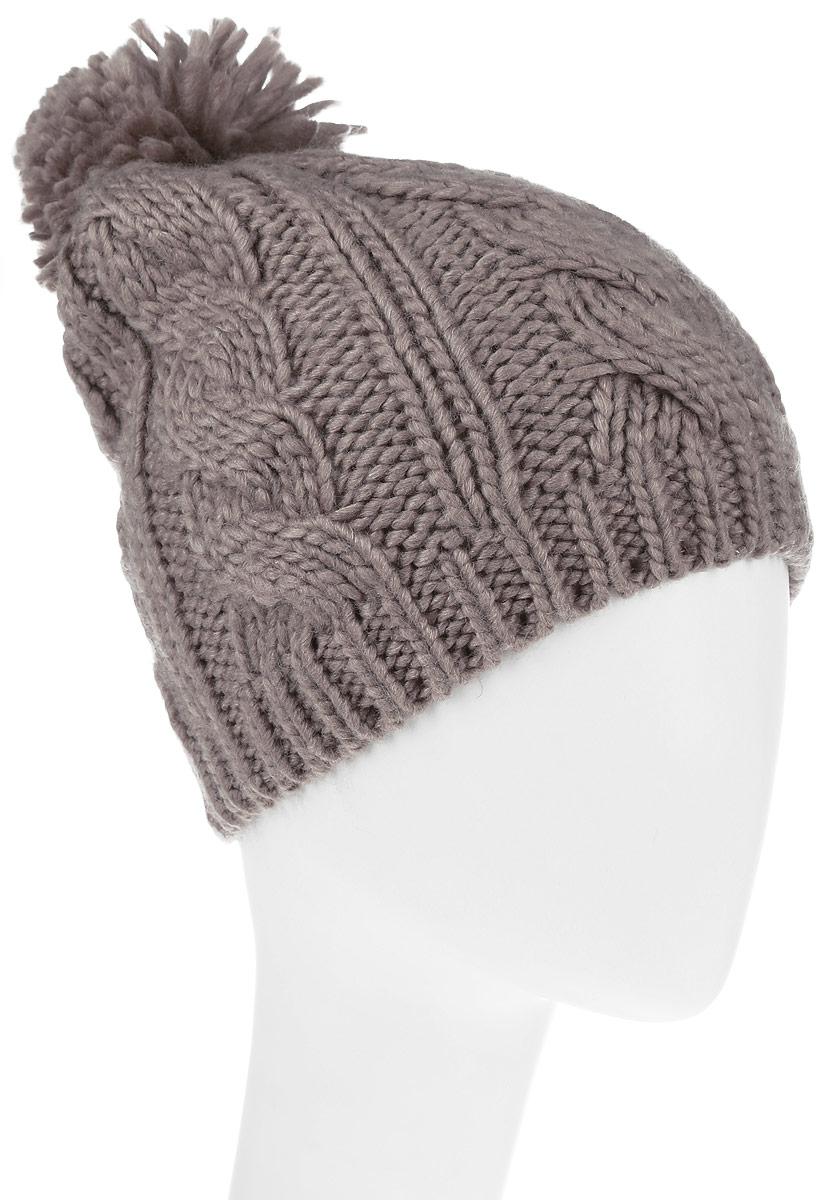 Шапка991503Теплая женская шапка Avanta Nerina дополнит ваш наряд и не позволит вам замерзнуть в холодное время года. Шапка выполнена из полиэстера с добавлением шерсти, что позволяет ей великолепно сохранять тепло, и обеспечивает высокую эластичность и удобство посадки. Изделие оформлено оригинальным помпоном и фирменной, металлической нашивкой. Такая шапка составит идеальный комплект с модной верхней одеждой, в ней вам будет уютно и тепло. Уважаемые клиенты! Размер, доступный для заказа, является обхватом головы.