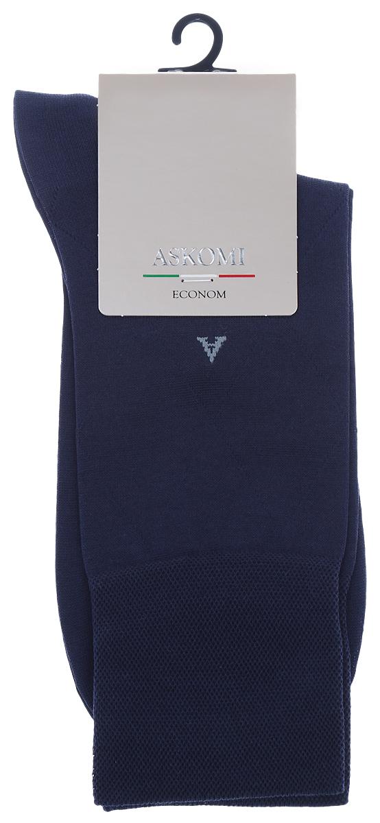 НоскиАМ-3300Мужские носки Askomi изготовлены из высококачественного мерсеризованного хлопка с добавлением полиамидных волокон, обладают повышенной прочностью и мягкостью, не садятся и не деформируются. Изделие оснащено двойным бортом для плотной фиксации, который не пережимает сосуды, а также кеттельным швом, не ощутимым для ноги. Мысок и пятка усилены. Оформлены буквой А на паголенке и крупным ромбом.