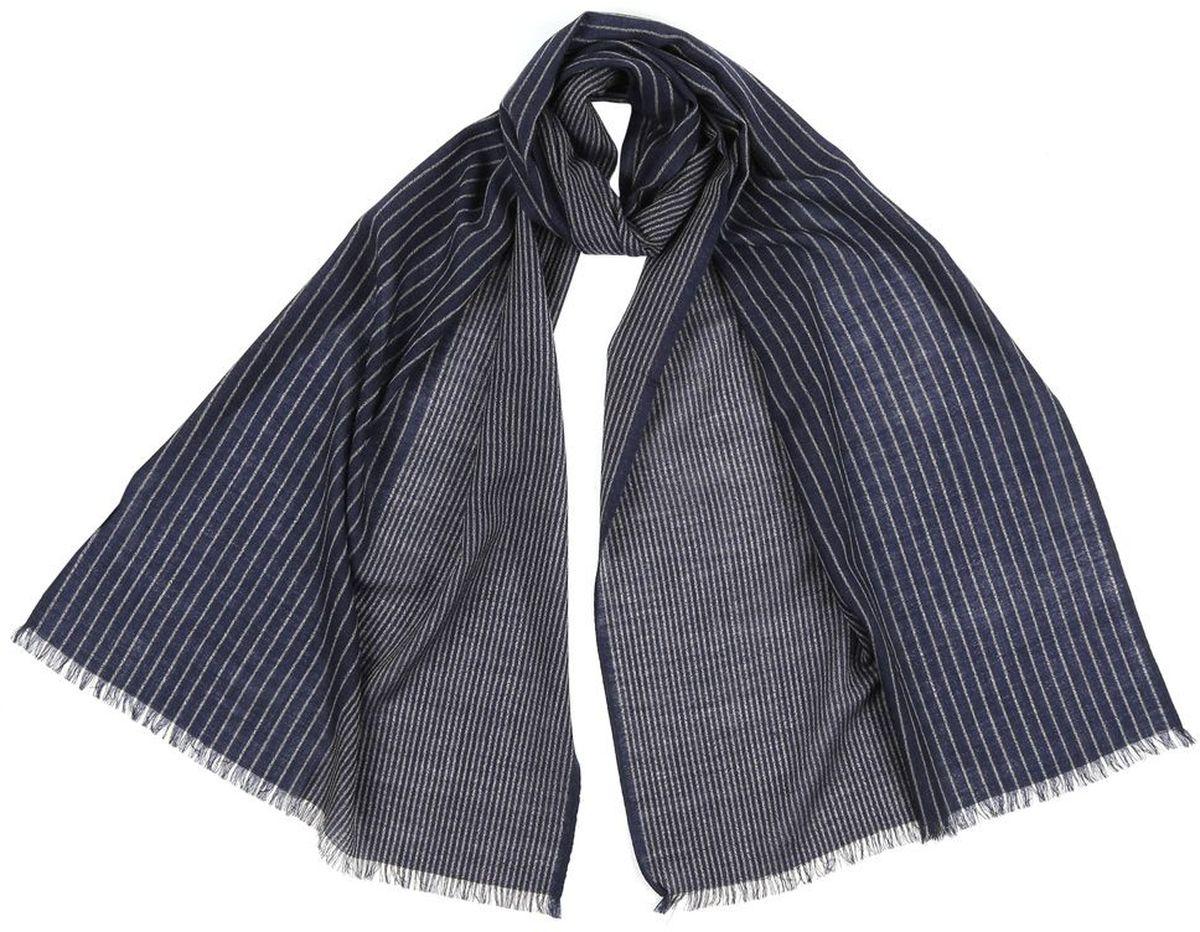 YNNT2011102-3Теплый шерстяной шарф Leo Ventoni дополнит ваш повседневный образ.