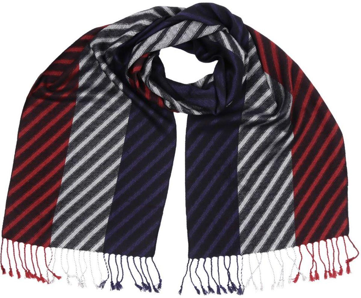 ШарфMSC5207-3Мужской шарф от итальянского бренда Fabretti выполнен из натуральной шерсти с добавлением вискозы, которая придает изделию неповторимую мягкость и шелковистость фактуры. Изысканное сочетание цветов дополнит любой современный образ. Аккуратные кисточки, которые украшают края модели позволили дизайнерам создать настоящий шедевр, который подчеркнет вашу статусность и элегантность.