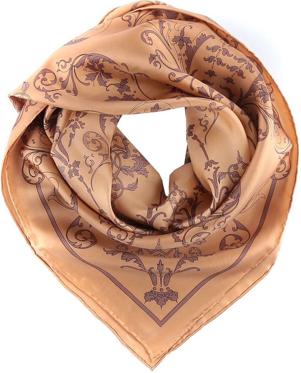 CX1516-39-3Женский платок Fabretti из 100% шелка - добавит изюминку в Ваш образ.