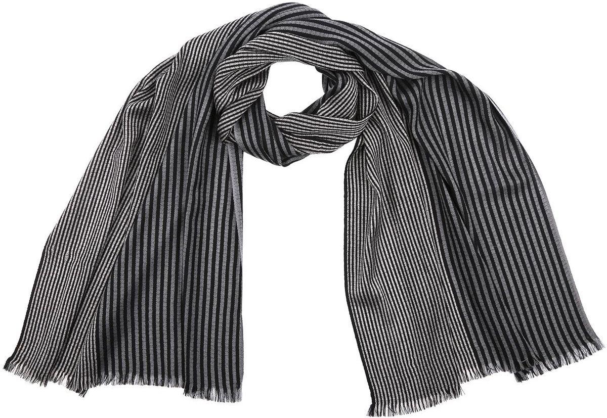 ШарфBG15161-4Элегантный мужской шарф Fabretti согреет вас в холодное время года, а также станет изысканным аксессуаром, который призван подчеркнуть ваш стиль и индивидуальность. Оригинальный и стильный шарф выполнен из высококачественной 100% шерсти, оформлен узкими контрастными полосками и украшен тонкой бахромой по краю. Такой шарф станет превосходным дополнением к любому наряду, защитит вас от ветра и холода и позволит вам создать свой неповторимый стиль