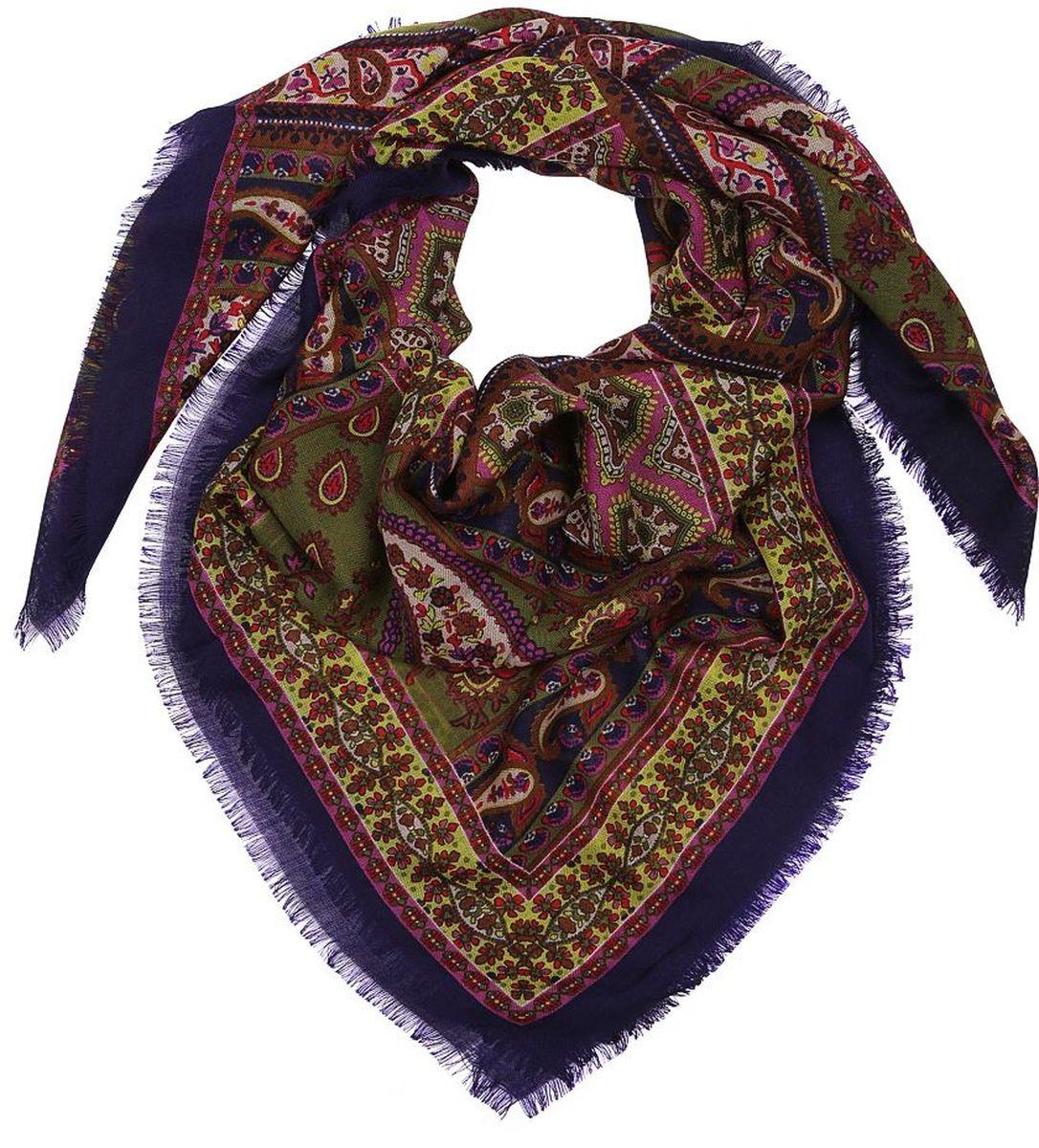 22086802-2Женский платок Leo Ventoni - легкий и с приятной фактурой. Завершающий штрих при создании яркого образа.