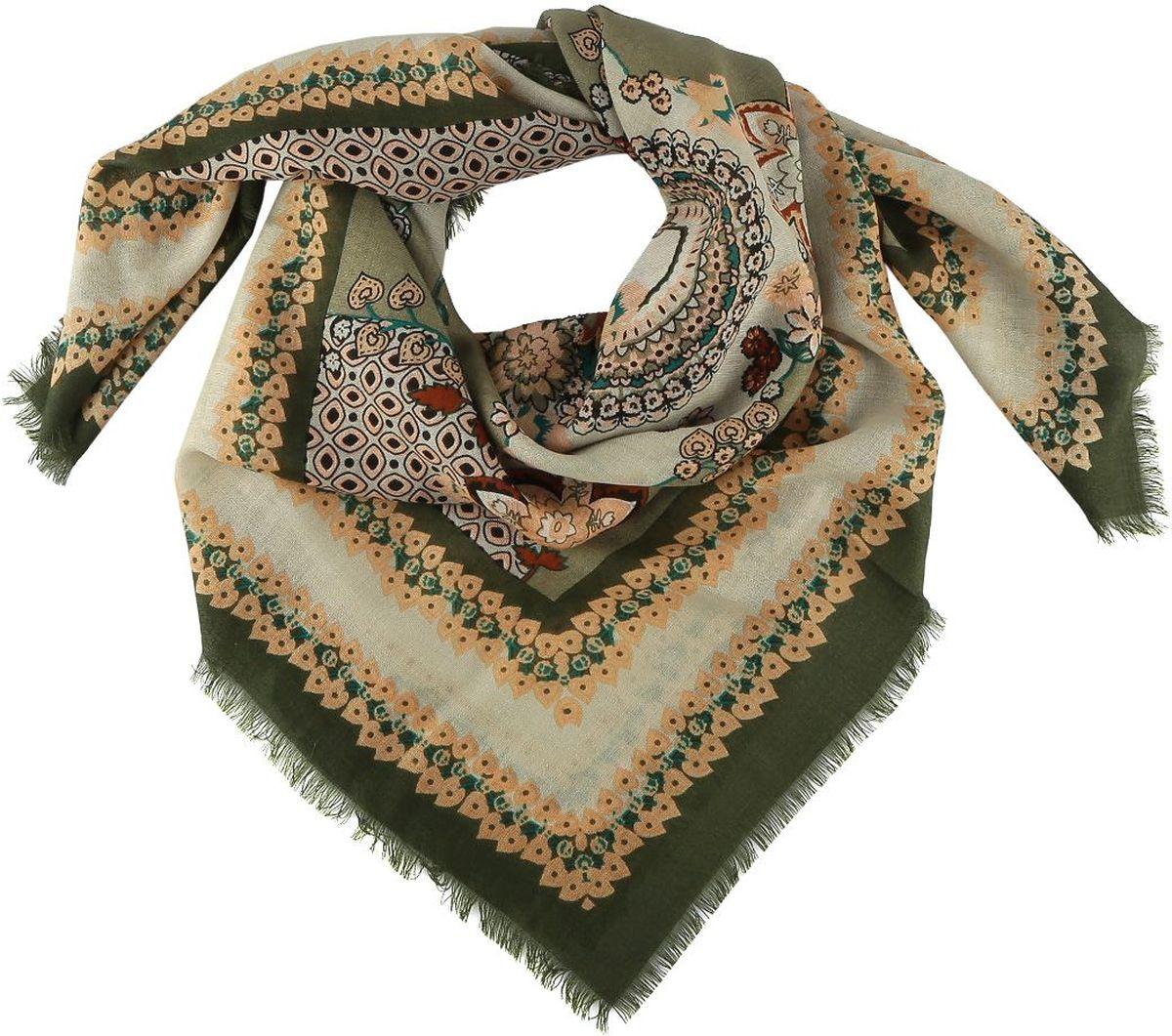 Платок1311019-3Стильный женский платок Fabretti - добавит в ваш образ нотку романтики и шарма, а также подчеркнет безупречный вкус. Прекрасное завершение вашего образа.