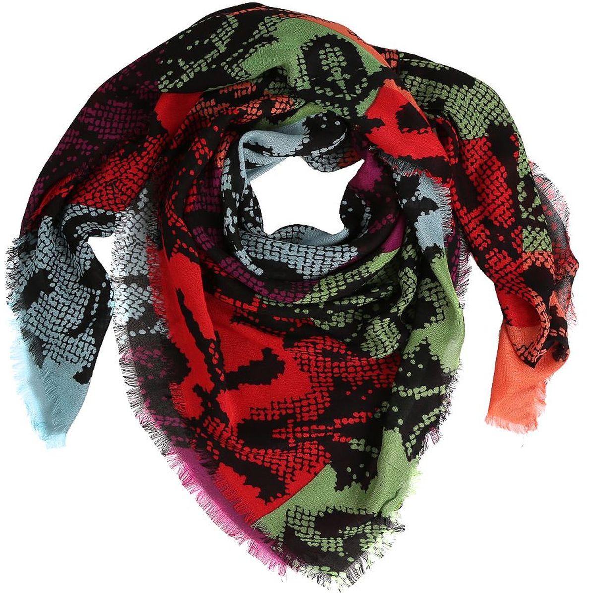 Платок28083-BЖенский платок Fabretti - легкий и с приятной фактурой. Завершающий штрих при создании яркого образа.