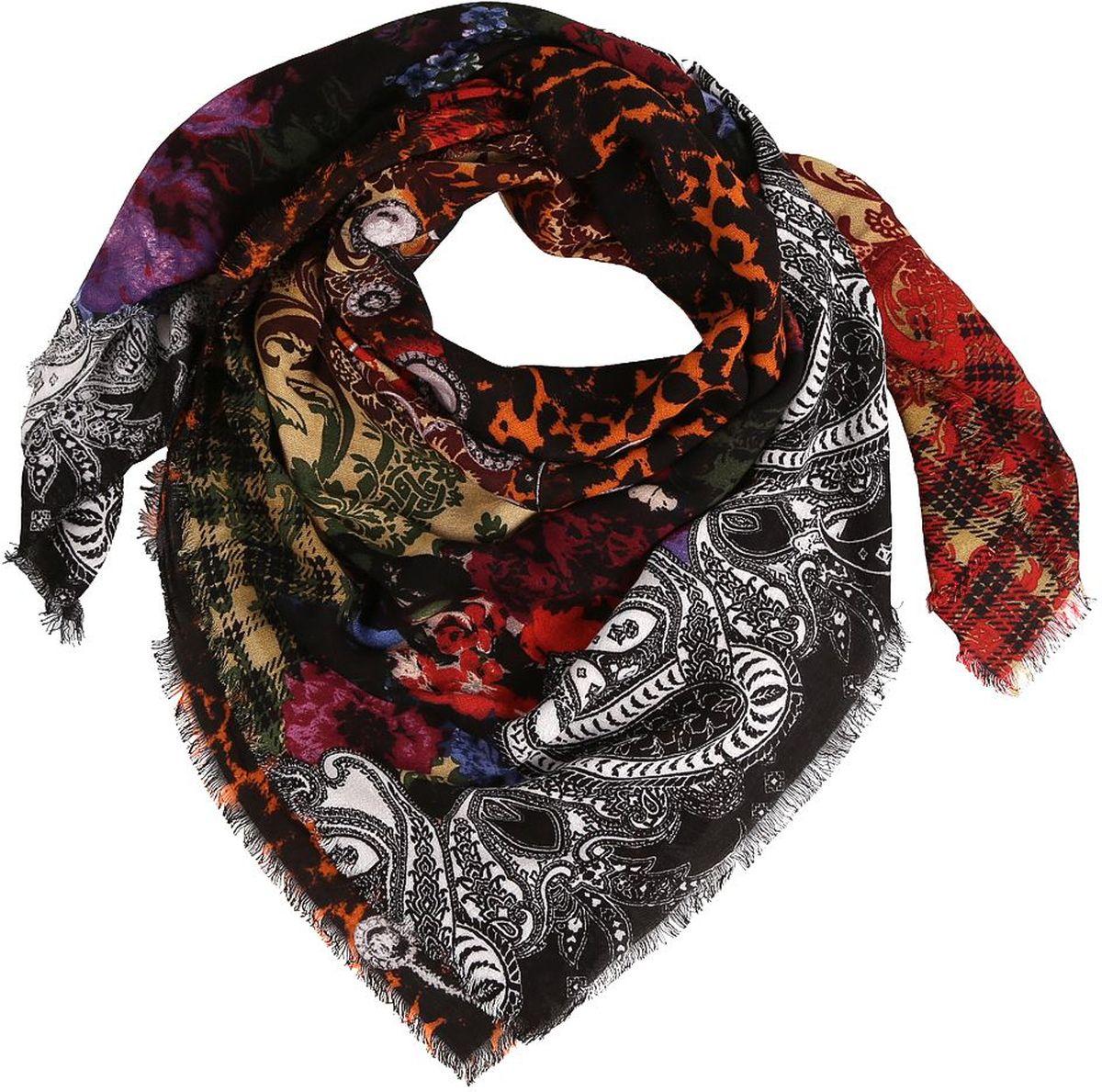 Платок28071-CЖенский платок Fabretti - легкий и с приятной фактурой. Завершающий штрих при создании яркого образа.