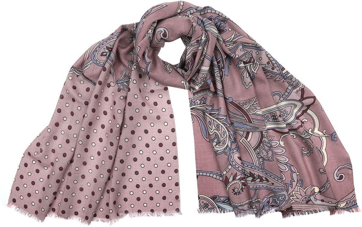 3500-1Потрясающий женский шарф Fabretti выполнен из шерсти и украшен актуальным этническим узором. Края модели оформлены коротенькой бахромой. Великолепный женский шарф Fabretti станет ярким акцентом однотонного демисезонного гардероба, а окружающие обязательно будут обращать свое восторженное внимание на вас.